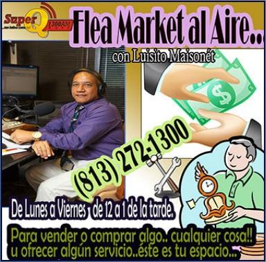 Super Q1300 Flea Market Al Aire